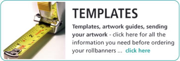 roller banners Templates